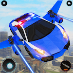 Real Police Robot Car : Flying Car Games APK icon