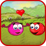 Red Pink Ball: Bouncing Ball Love Adventure APK