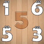 Wrong Wooden Slots with Crying Numbers 1 to 10 APK icon