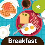 Breakfast Recipes : Simple, quick and easy recipes APK icon