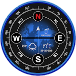 Digital Compass 360 free for android for PC icon