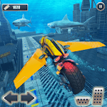 Underwater Racing Motorbike Flying Stunts APK icon