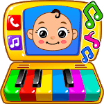 Baby Games - Piano, Baby Phone, First Words APK icon