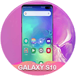 Themes for samsung S10: S10 launcher and wallpaper APK icon