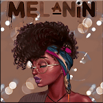 Melanin wallpapers: Girly, Cute, Girls APK icon