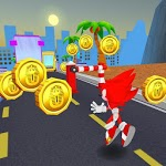 Sonic Red Subway Adventure: Dash Surf Runners 3D APK icon