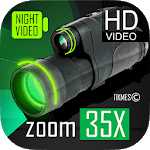 Low Light Vision Video Camera 35x zoom APK icon