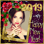 New Year 2019 Photo Frames , 2019 Greetings Cards APK