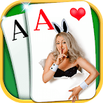 Solitaire - Beautiful Girl Themes, Funny Card Game APK icon