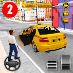 New York City Taxi Driver - Driving Games Free 2 APK icon