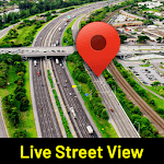 Street View: My Location,GPS Coordinates Live Maps APK icon