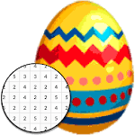 Easter Egg Coloring Game - Color By Number APK icon