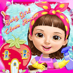 Sweet Baby Girl Clean House APK icon