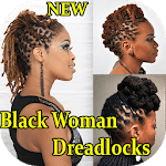 Black Woman Dreadlocks Hairstyle APK icon