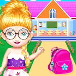 School Decorating Doll House Town My HomePlay Game APK icon