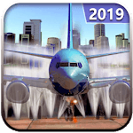 Modern Plane Wash: Flight Simulator 2019 APK icon