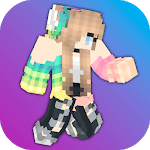 Girls Skins for Minecraft PE APK icon