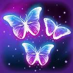 Live Wallpaper Magic Touch Butterfly APK icon