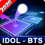 BTS Hop: KPOP IDOL Rush Dancing Tiles Game 2019! APK icon