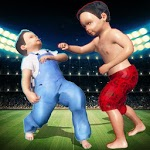 Kid Fighting Club: Wrestling Game APK icon