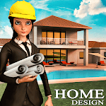 House Design & Makeover Ideas: Home Design Games APK icon