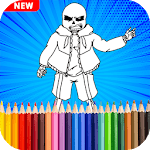 Undertale Coloring Pages Game APK