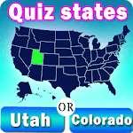 Usa States Quiz APK icon