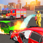 Firefighter Truck 911 Rescue: Emergency Driving APK