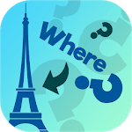 Where In The World? - Geography Quiz Game APK icon