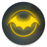 Bat Hero Theme Launcher - Wallpapers and Icons APK icon