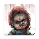 Scary Doll Themed Launcher - Icons and Themes Pack APK icon