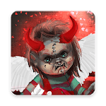 Scary Doll Cupid Theme - Wallpapers and Icons APK icon
