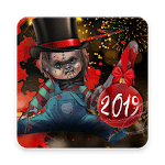 Scary Doll New Years Theme - Wallpapers and Icons APK