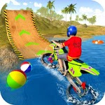 Water Surfer Motorbike Stunts APK