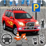 In Car Parking Games – Prado New Driving Game APK icon