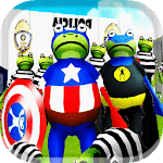Frog Battle in the Amazing City APK icon