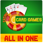 Offline Card Games - Solitaire | Gin Rummy | Poker APK icon