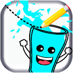 Feed Me Water - One Line Drawing Puzzles APK
