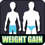 Weight Gain Home Workout Tips: Diet plan APK icon