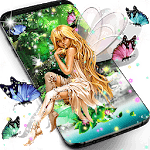 Forest fairy magical night live wallpaper APK
