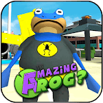 Amazing Frog Battle City Simulator 3D APK icon