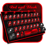3D Classic Business Red Black keyboard Theme APK