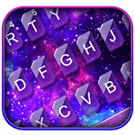 Fantasy Galaxy Glitter Theme Keyboard APK