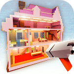 Dollhouse Builder Craft: Doll House Building Games APK icon