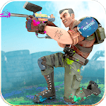 Paintball Xtreme War 2019: Real Combat Shooting APK icon