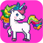 Color By Number Pixel Art APK icon