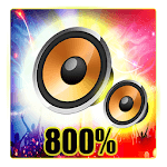 800 super max volume booster (sound booster)2019 APK icon