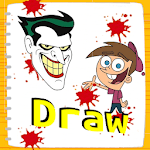 Learn to Draw cartoon characters APK