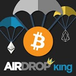 Airdrop King ⇒ Free Crypto Airdrops up to $100 APK icon