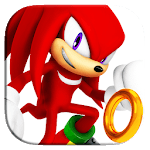 Knuckles The Runner : Sonic Super Evolution APK